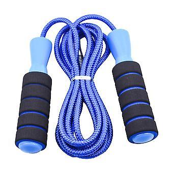 Corda da salto, corda per saltare veloce senza grovigli con maniglie memory foam per uomo, donna e bambino