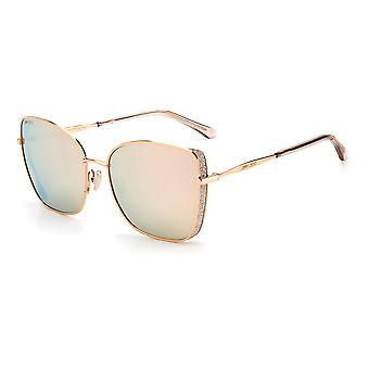Jimmy Choo ALEXIS/S DDB/SQ Gold Copper/Multilayer Gold Sunglasses