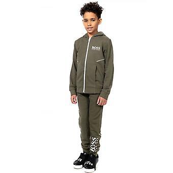BOSS Kids Kaki Fleece Sweatshirt