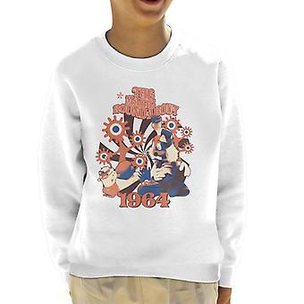 The Magic Roundabout Retro Brian & Dylan Kid's Sweatshirt