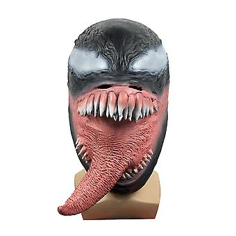 Venom Mask Couvre-chef Masquerade Horror Headwear Halloween Spoof Cosplay Props