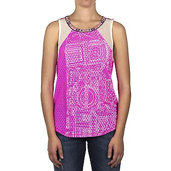 Custo Barcelona Women Tank top Rewest Neon  Multicolor