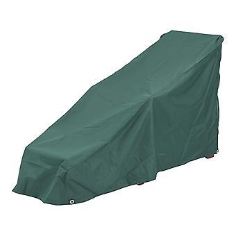Protective Steamer Sun Lounger Cover Fully Waterproof Weatherproof Dark Green