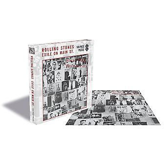 The rolling stones - exile on main st 500pc puzzle