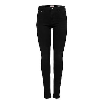 Vrouwen ALLEEN Skinny Hoge Taille Jeans Lange Denim Stretch Broek ONLPAOLA Broek