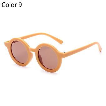 Retro Runde Rahmen Kinder Sonnenbrille uv 400 SchutzBrille für Kinder Sonnenbrille Mädchen Jungen Outdoor Strandschutz