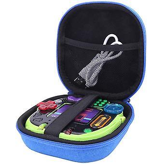 FengChun Hart Taschen Hülle für Leapfrog / Vtech Rockit Twist Tragbares Spiel (Blau)
