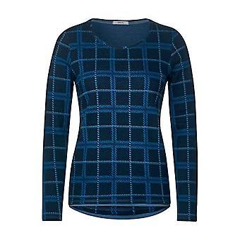 Cecil B315411 T-Shirt, Deep Blue, XS Woman
