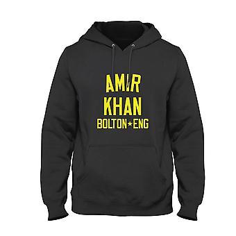 Amir khan boxing legend kids hoodie