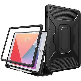 Hlle fr iPad 8. Generation 2020/iPad 7. Generation 2019, Weich TPU Schutzhlle mit Stifthalter PET