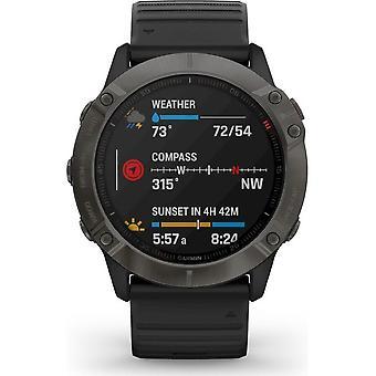 Garmin - Smartwatch - fenix 6X SAPPHIRE Svartgrå - 010-02157-11