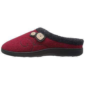 Zapatos de mujer bellota A10151 lana cerrada dedo del pie slip en zapatillas