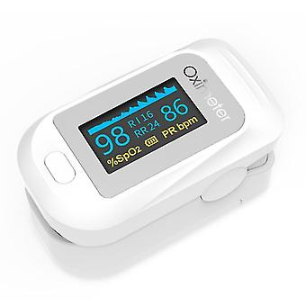أبيض معدل ضربات القلب رصد الإصبع oximeter az7228