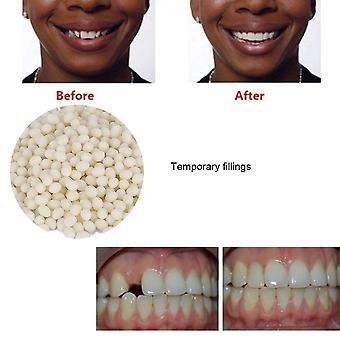 Tijdelijke tand reparatie, gaten vullen kunstgebit lijm valse tanden solide lijm