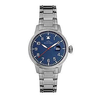 Elevon Stealth Bracelet Watch w/Date - Blue