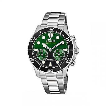 Horloge connect Heren Lotus Horloges 01-030 - L18800 Zilveren Stalen Armband
