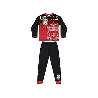 11-12 Yıl Liverpool Süblimasyon Baskı Pijama 33894