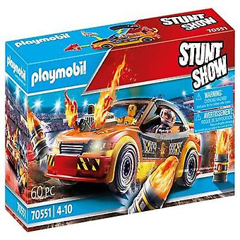 Vehicle Playset Crashcar Playmobil 70551 (60 pcs)