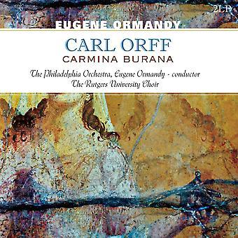 Eugene Ormandy, The Philadelphia Orchestra, Orff - Carmina Burana Vinyl