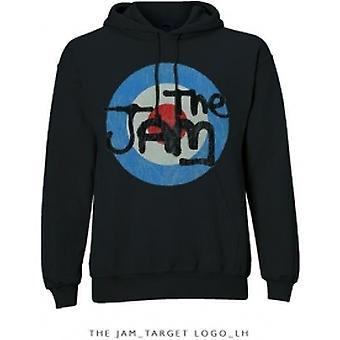 The Jam Target Logo Pullover Hoodie Black: Medium