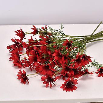 ديزي الزهور الاصطناعية، باقة فرع طويل