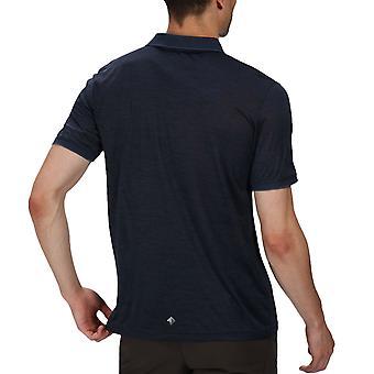 Regata Regatta Remex II Jersey Quick Dry Short Sleeve Polo Top - Navy