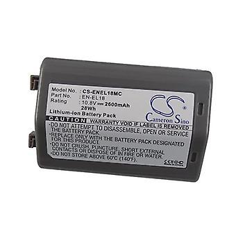 Cameron Sino Enel18Mc batteri udskiftning for Nikon Kamera