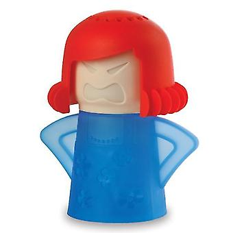 Horno de microondas limpiador a vapor y desinfecta para el hogar (azul)