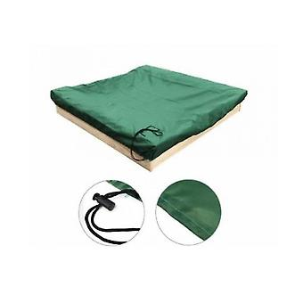 Sandbox Cover With Drawstring, Square Dust-proof Beach Sandbox Cover, Waterproof Sandpit Swimming Pool