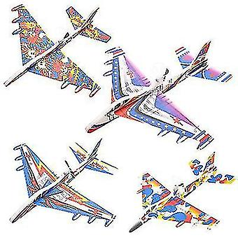 Willekeurige kleur lichtgevende opladen vliegtuig model speelgoed (O16)