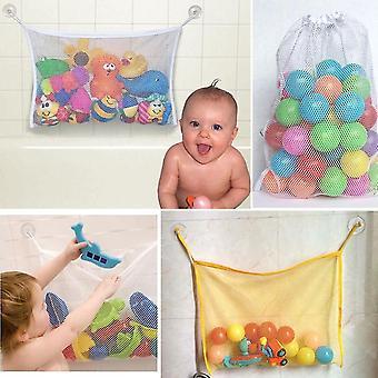 Vauvan kylpyammeen säilytysverkkopussi imukupilla
