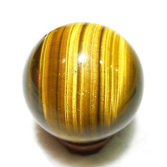 Tiger Eye Mini Toy Sphere Natural Round Healing Ball