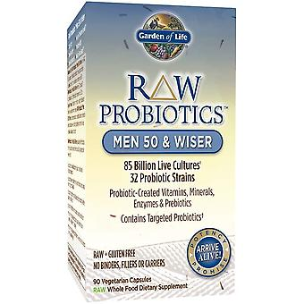 Raw Probiotics Men 50 & Wiser - 90 vcaps