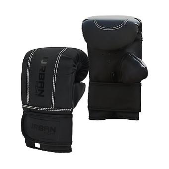 Urban Fight Boxing Fitness Training Punch Bag Mitts Black
