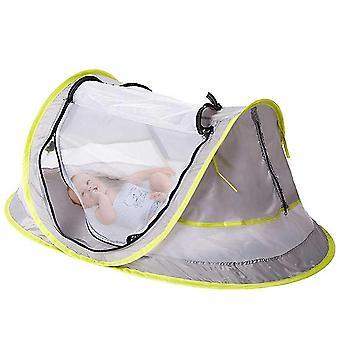 Lit portatif de lit de bébé avec le maillage uv de protection