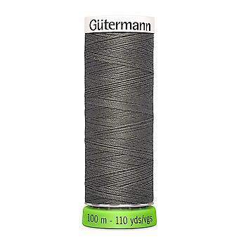 Gutermann 100% genanvendt polyester sy-alle tråd 100m hånd og maskine - 035