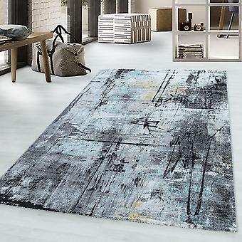 Vintage FUNKY desgin Short Pile Carpet Gradient Manchado