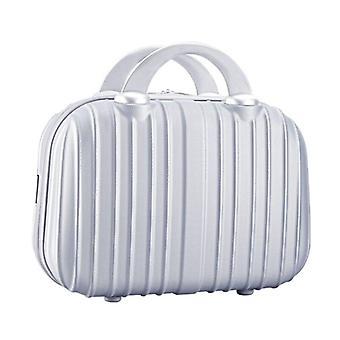14in Custodia cosmetica Bagaglio piccolo viaggio Borsa portante scatola multifunzionale