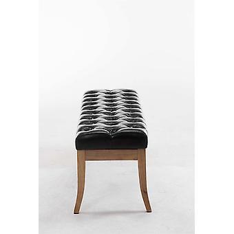Krzesło biurowe - Krzesło biurkowe - Biuro domowe - Nowoczesne - Czarne - Drewno - 100 cm x 38 cm x 46 cm