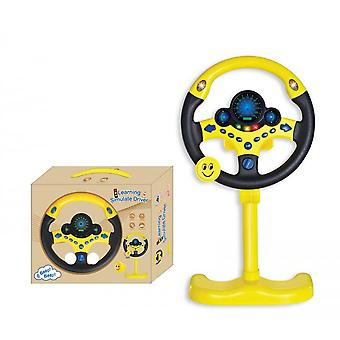 Electric Analog Steering Wheel With Light And Sound Toy