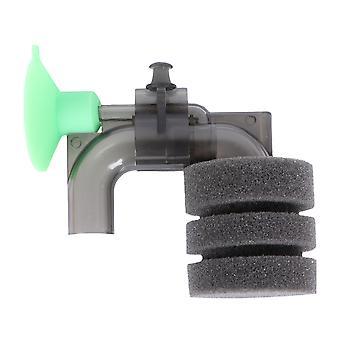 Sponge Externý akvarijný filter Mini Filter Malý pneumatický filter Akvárium stlmte ponorné príslušenstvo kyslíkových čerpadiel