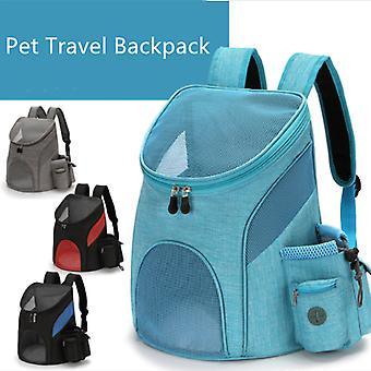 Открытый pet Travel Двойной рюкзак Складной кот и собака Pet Box Товары для домашних животных Путешествия Мода Для домашних животных Переноска передняя сумка