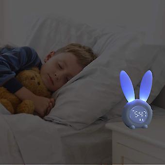 Kids Alarm Clock For Kids, Kids Alarm Clocks For Girls Bedroom, Kids Night Light,  Touch Control- Pink