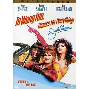 Wong Foo Dank für alles, was Julie Newmar [DVD] USA importieren