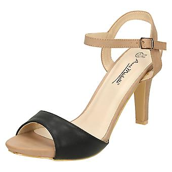 Doamnelor Anne Michelle Peep Toe sandale cu toc înalt
