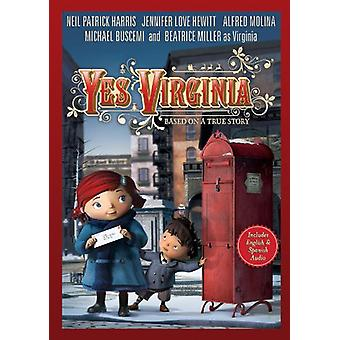Yes Virginia [DVD] USA import