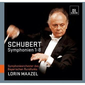 F. Schubert - Schubert: Symphonies Nos. 1-8 [CD] USA import