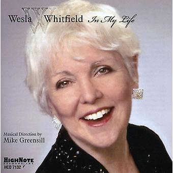 Weslia Whitfield - In My Life [CD] USA import