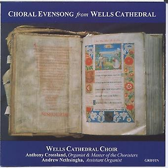 Wells Cathedral Choir - Choral Evensong From Wells Cathedral [CD] USA import