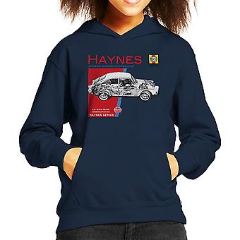 Haynes Owners Workshop Manual 0084 Volkswagen 1600 Fastback Kid's Hooded Sweatshirt
